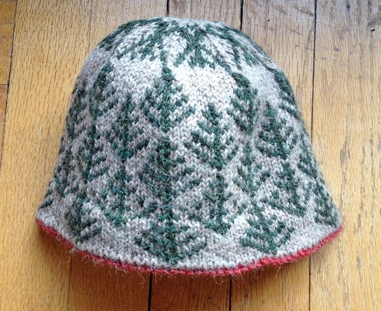 Countrywool Pine Tree Hat pattern