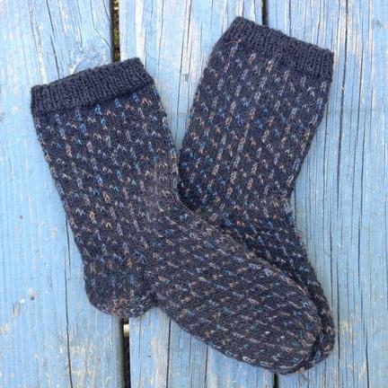 Countrywool pattern Faroe Island Sticks and Slants                 Socks