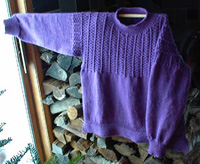 Countrywool Fair Whitby                 Gansey Sweater