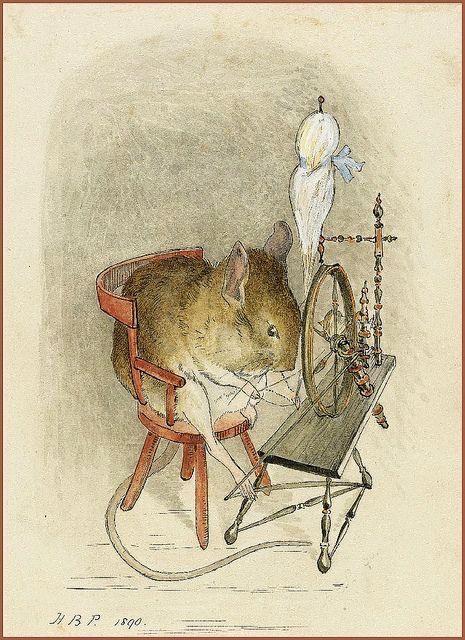 Beatrix Potter drawing