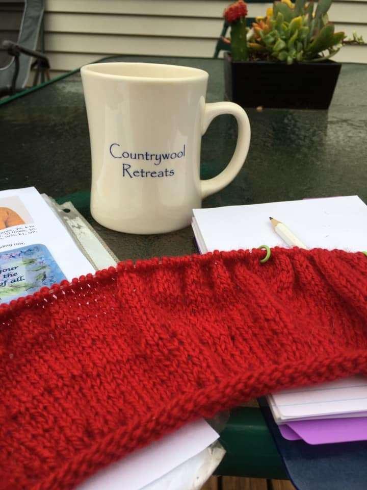 countrywool retreat mug