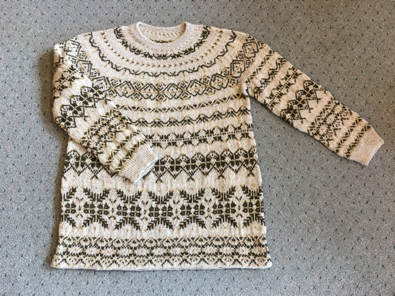 SOS sweater pattern at countrywool