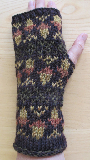 Countrywool's Acorn Mitts