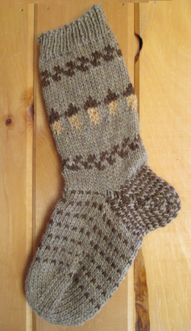 Countrywool acorn sock
