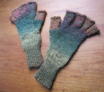 mohair                   pointless mitts countrywool