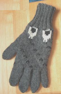 sheep tracks gloves