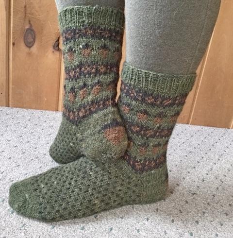 Countrywool Wee Acorn Socks