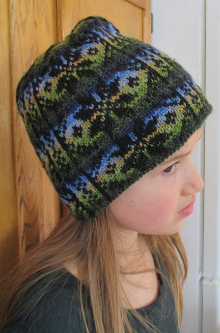 Countrywool Winter Star Fair Isle Hat