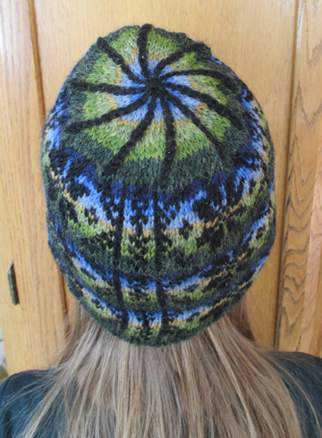 Coountrywool Winter Star Fair Isle Hat