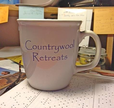 Countrywool retreats mug